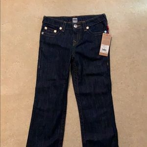 Boys true religion jeans size 10 never worn
